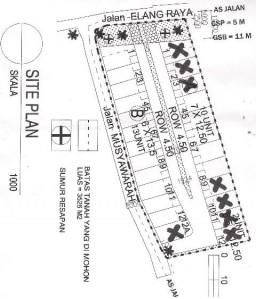 site plan BVR 2