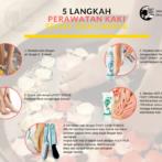 5 Langkah Perawatan Kaki di Rumah