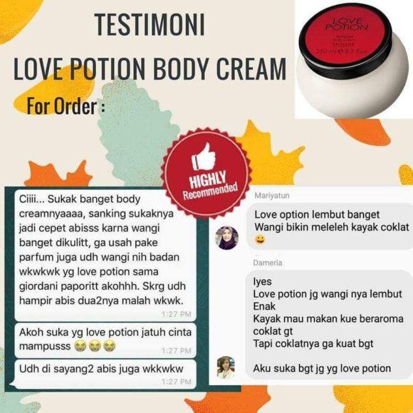 testimoni love potion