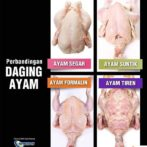 Ciri-ciri Ayam Segar, Ayam Tiren, Ayam Suntik & Ayam Berformalin
